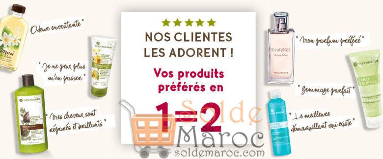 Promo Yves Rocher Maroc Vos produits préférés en 1=2