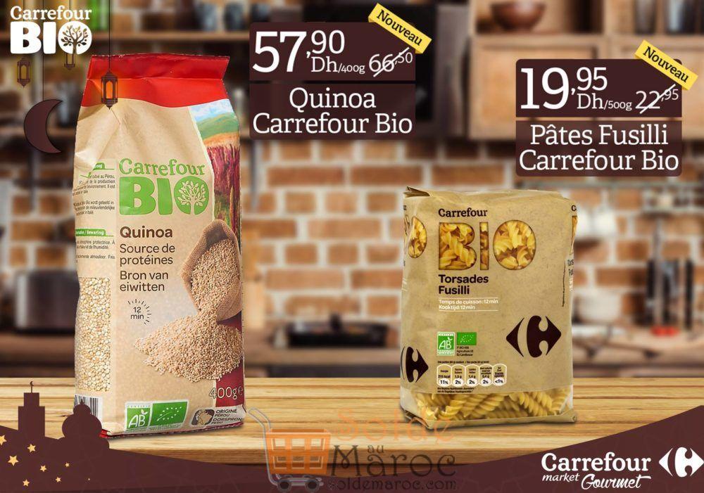 Promo Carrefour Market Gourmet produits bio 100% naturels