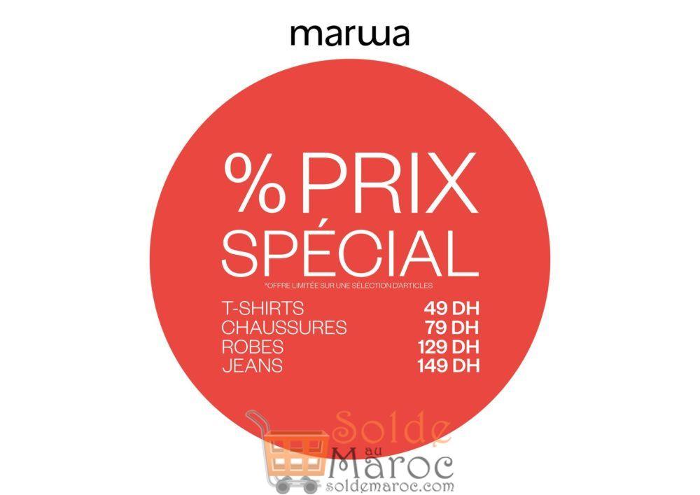 Promo Marwa Maroc Prix Spécial