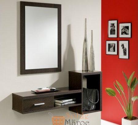 Photo of Promo Odesign Meuble d'entrée avec miroir Stylus 1650Dhs