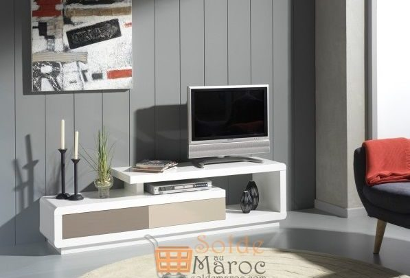 Photo of Promo ODesign Meuble TV design laqué 170cm 3700Dhs