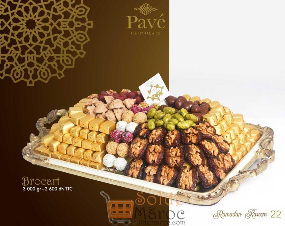 Catalogue Pavé Chocolat Spéciale Ramadan