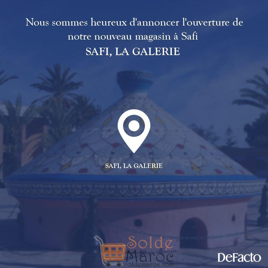 Ouverture Nouveau magasin Defacto Maroc à Safi la Galerie