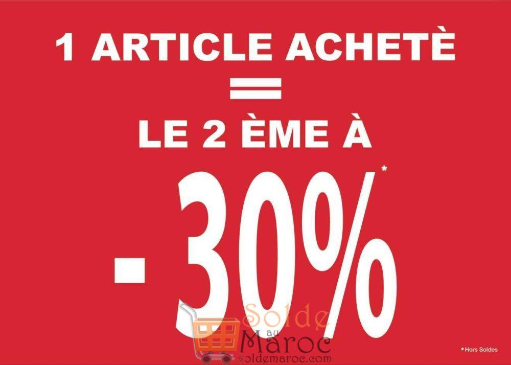 Soldes Shana Maroc 1 Article acheté le 2ème à -30%