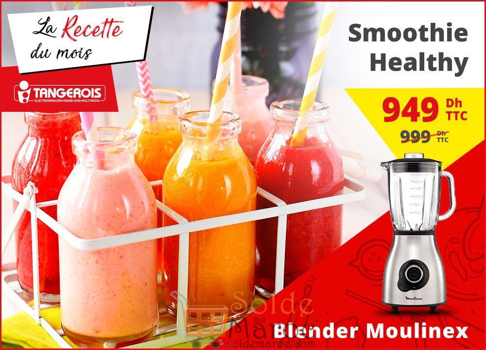 Promo Tangerois Electro BLENDER MOULINEX MASTERMIX 1400W BOL VERRE ICE CRUSH 949Dhs au lieu de 999Dhs