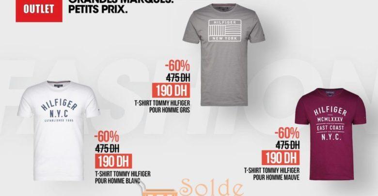 Photo of Promo BD Morocco Outlet Tee-shirt Tommy Hilfiger à 60% de réduction
