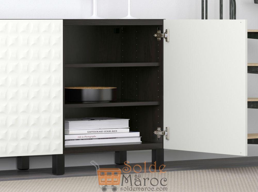 soldes ikea maroc combin rangement portes best 2624dhs les soldes et promotions du maroc. Black Bedroom Furniture Sets. Home Design Ideas