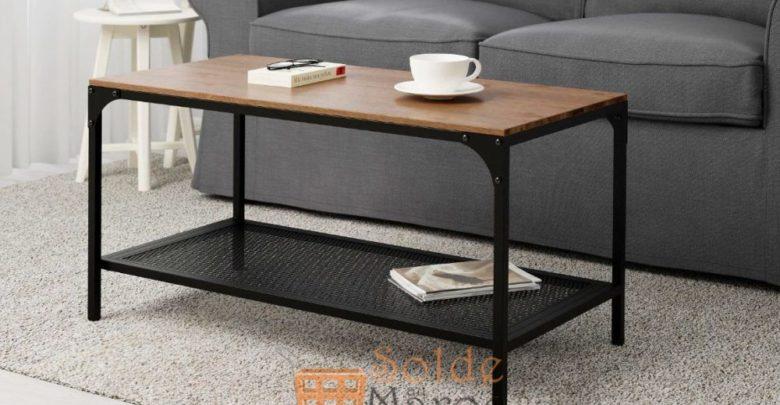 Photo of Soldes Ikea Maroc Table basse noir FJÄLLBO 499Dhs au lieu de 699Dhs