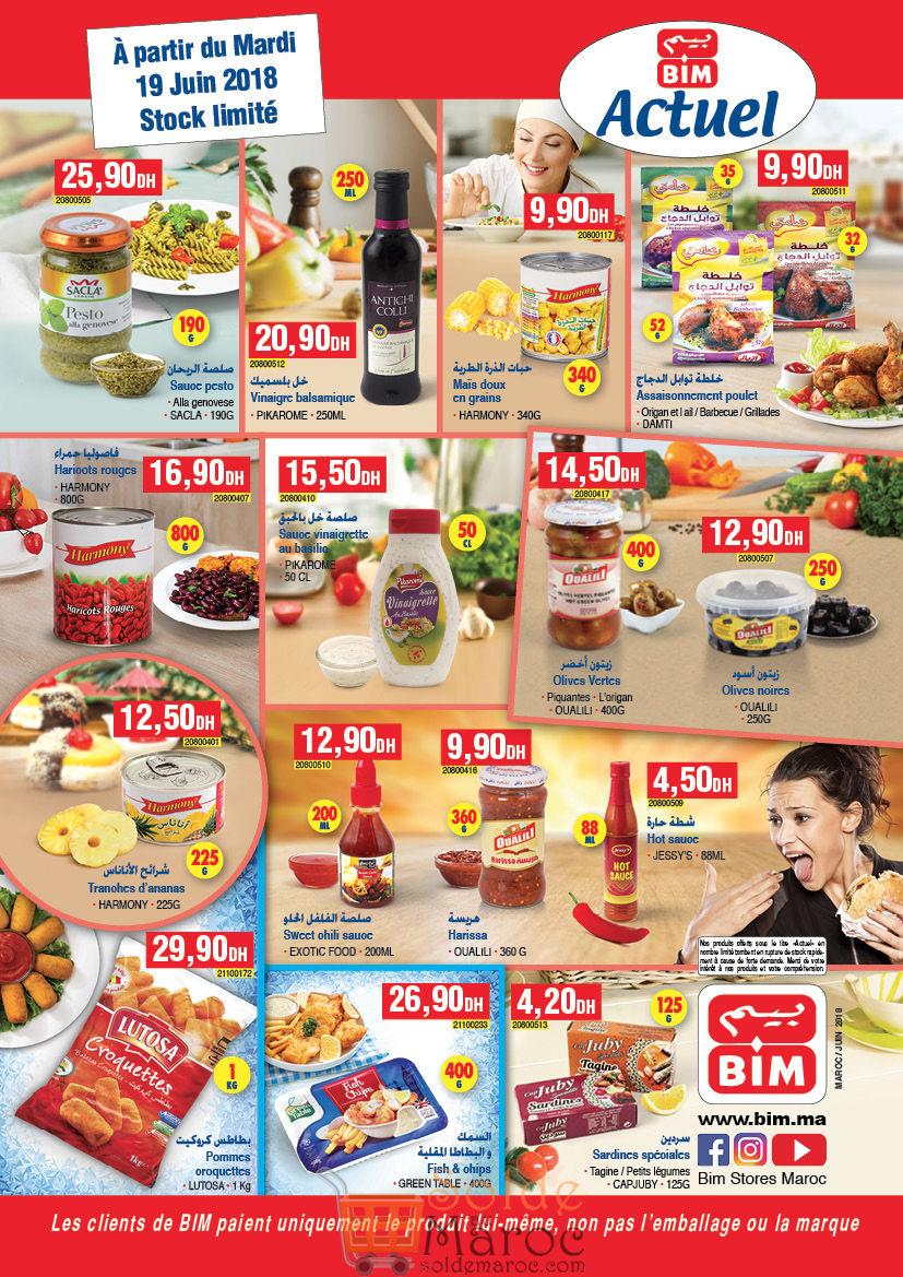 Catalogue Bim Maroc du Mardi 19 Juin 2018