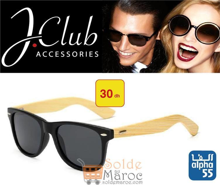 Nouvelle collection J.Club Accessories chez Alpha 55 Lunettes de soleil