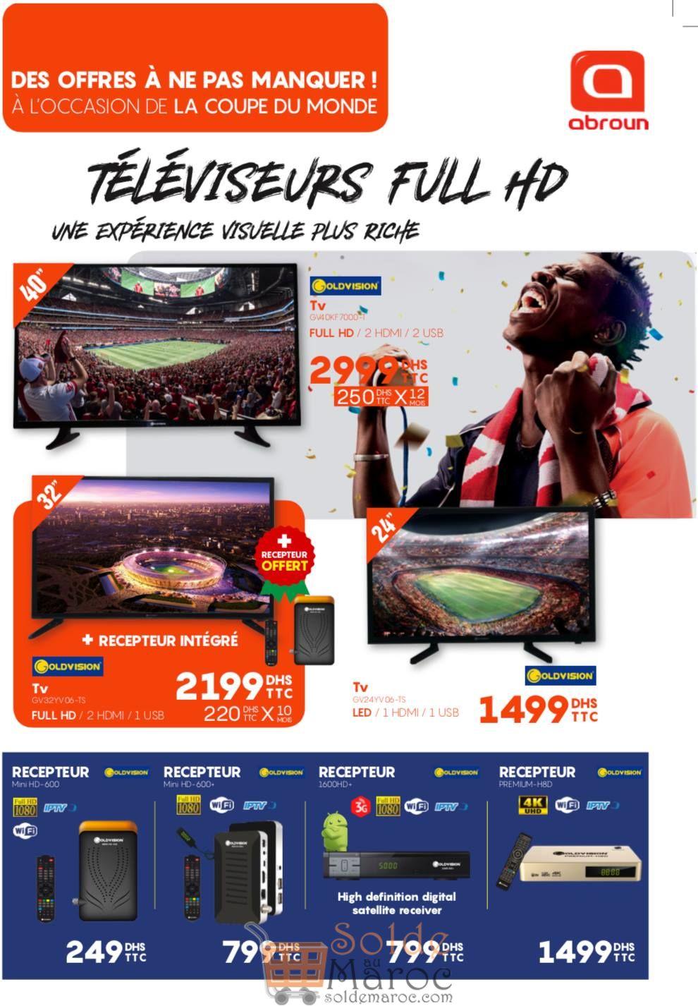 Catalogue Abroun Electro Spéciale Coupe du Monde Russia 2018