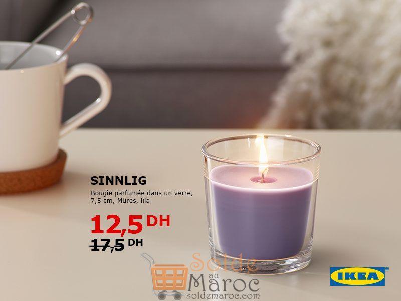 solde ikea maroc bougie parfum e dans un verre 12 5dhs solde et promotion du maroc. Black Bedroom Furniture Sets. Home Design Ideas