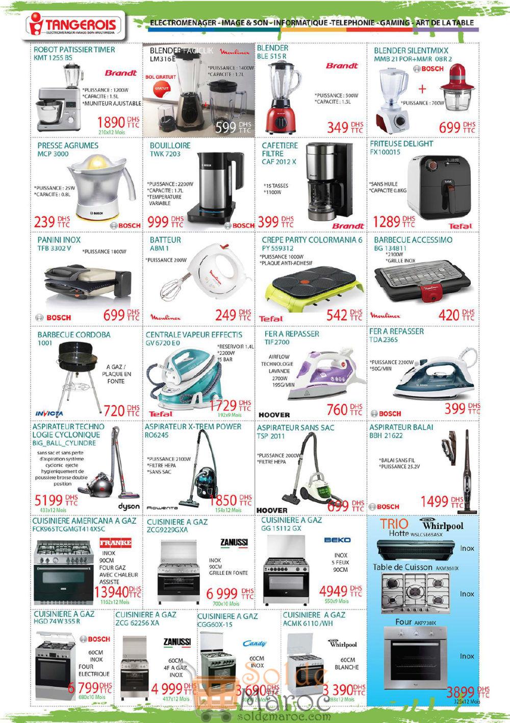 Catalogue Tangerois Electro Jusqu'au 17 Juillet 2018