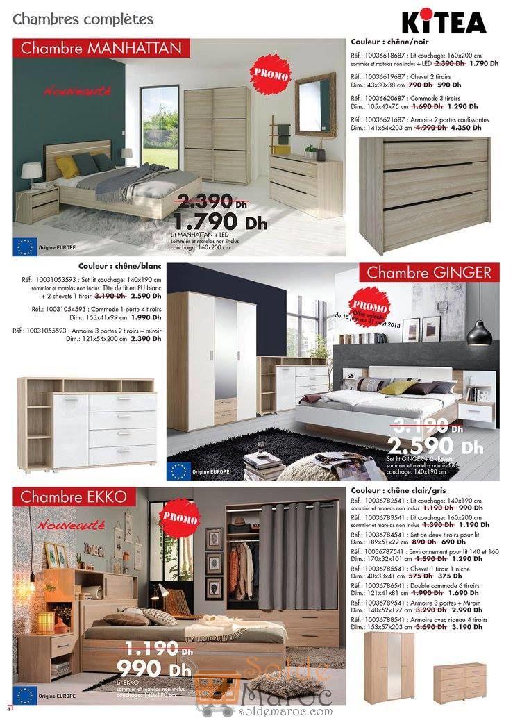 Catalogue Kitea Nouvelle Collection été 2018 /2019