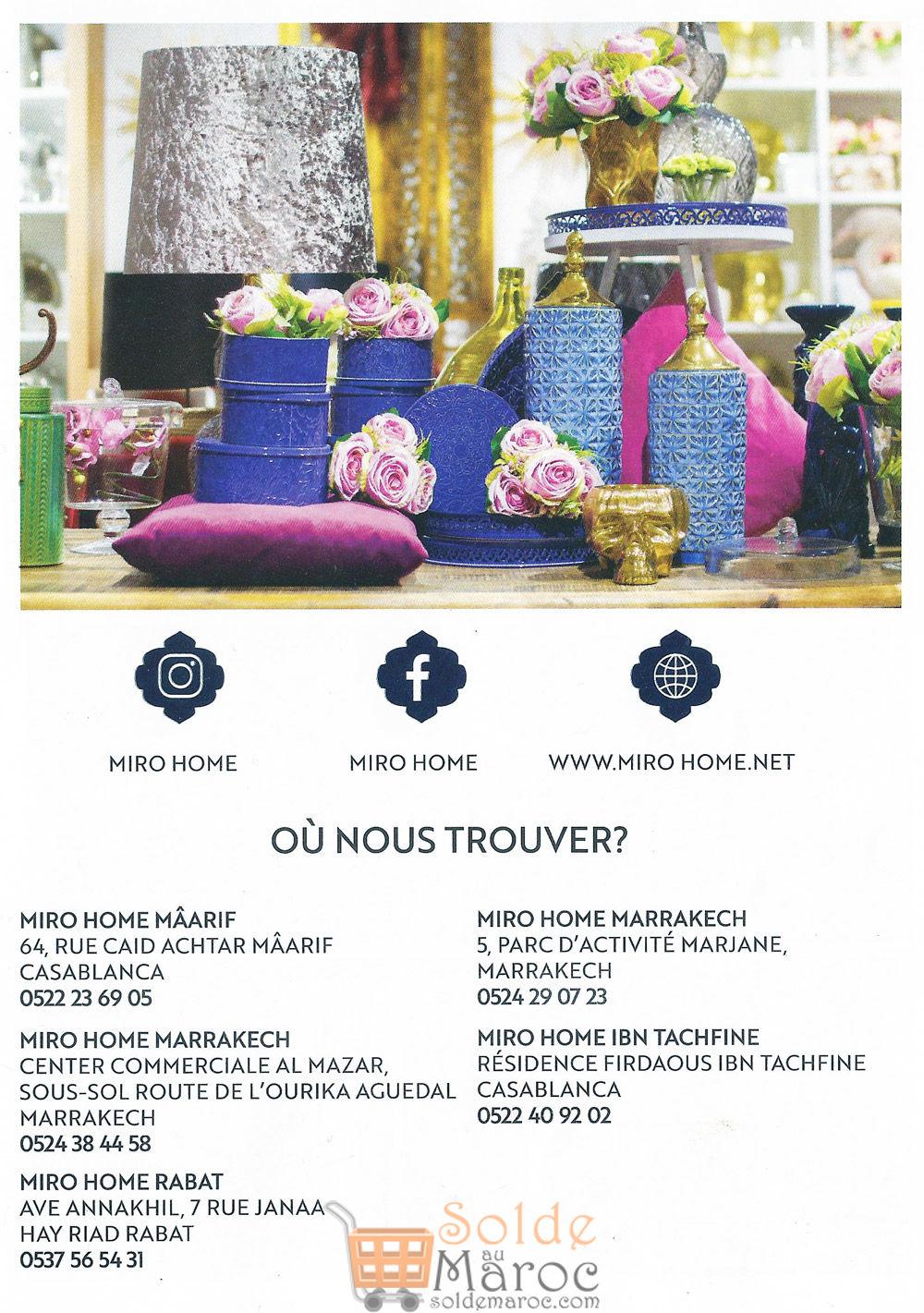 Flyer Miro Home Spéciale Ramadan