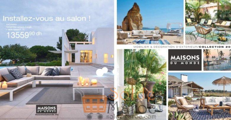 Photo of Catalogue Maison du Monde Maroc Outdoor 2018