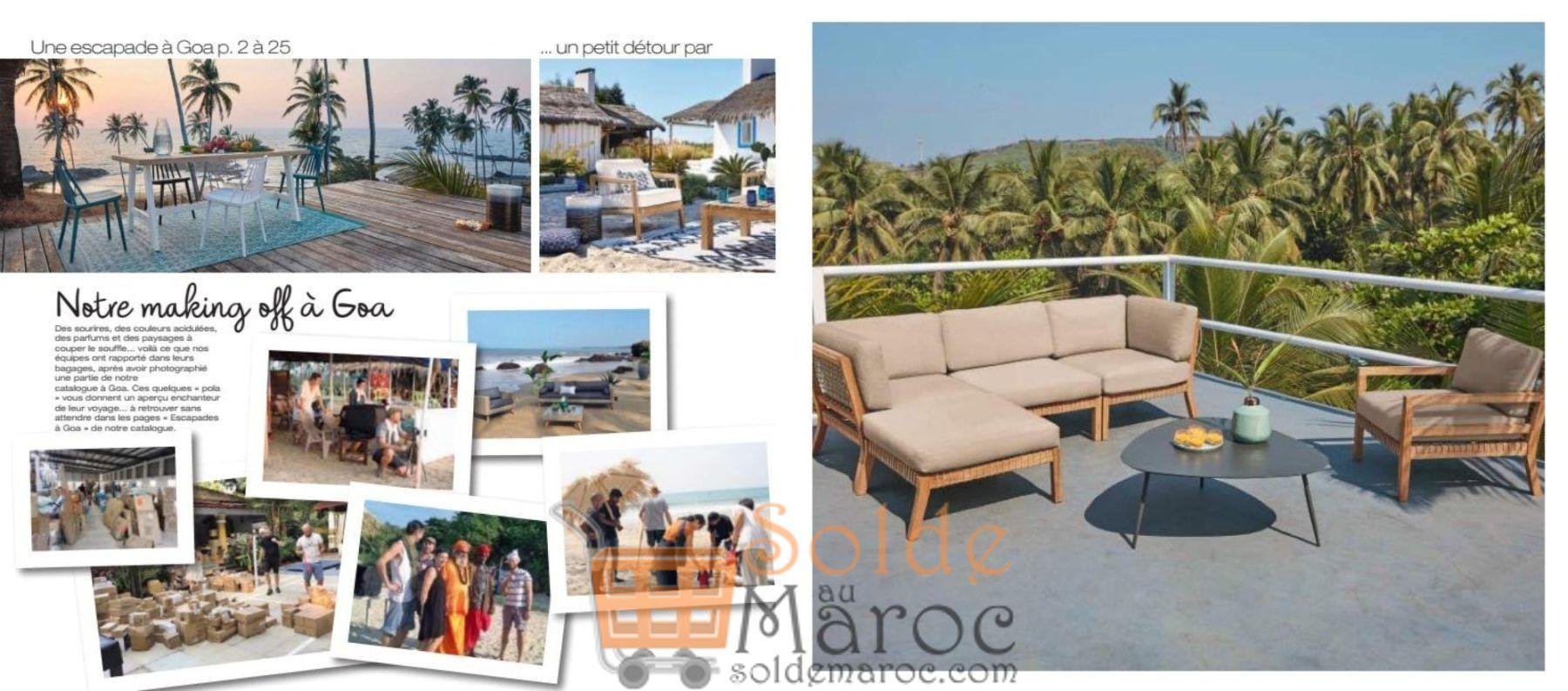 catalogue maison du monde maroc outdoor 2018 solde et promotion du maroc. Black Bedroom Furniture Sets. Home Design Ideas