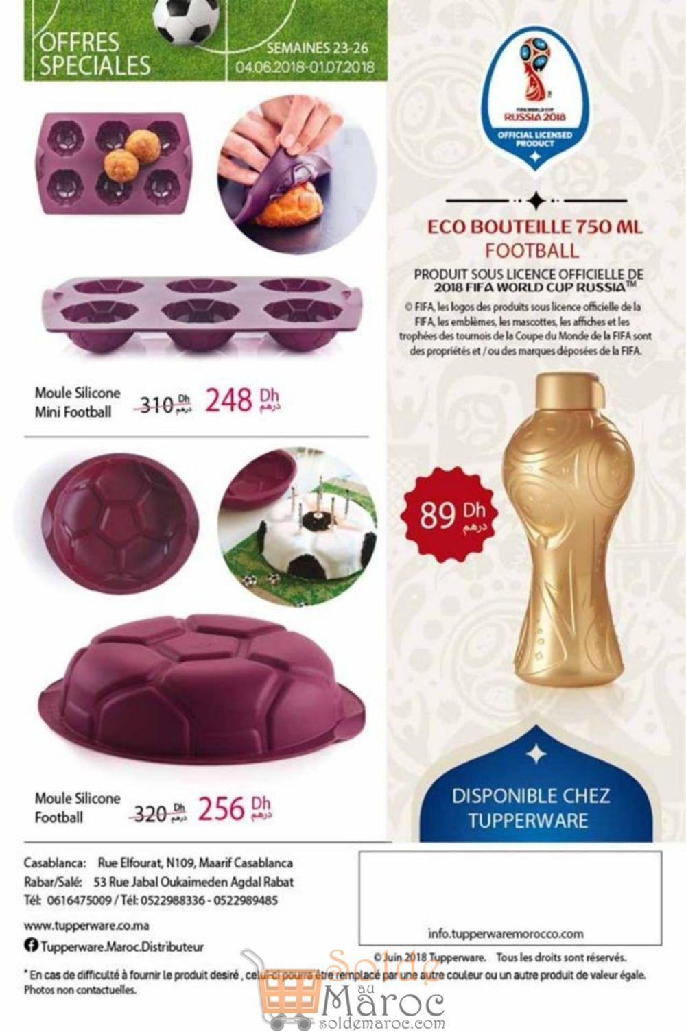 Catalogue Tupperware Maroc du 4 Juin au 1 Juillet 2018
