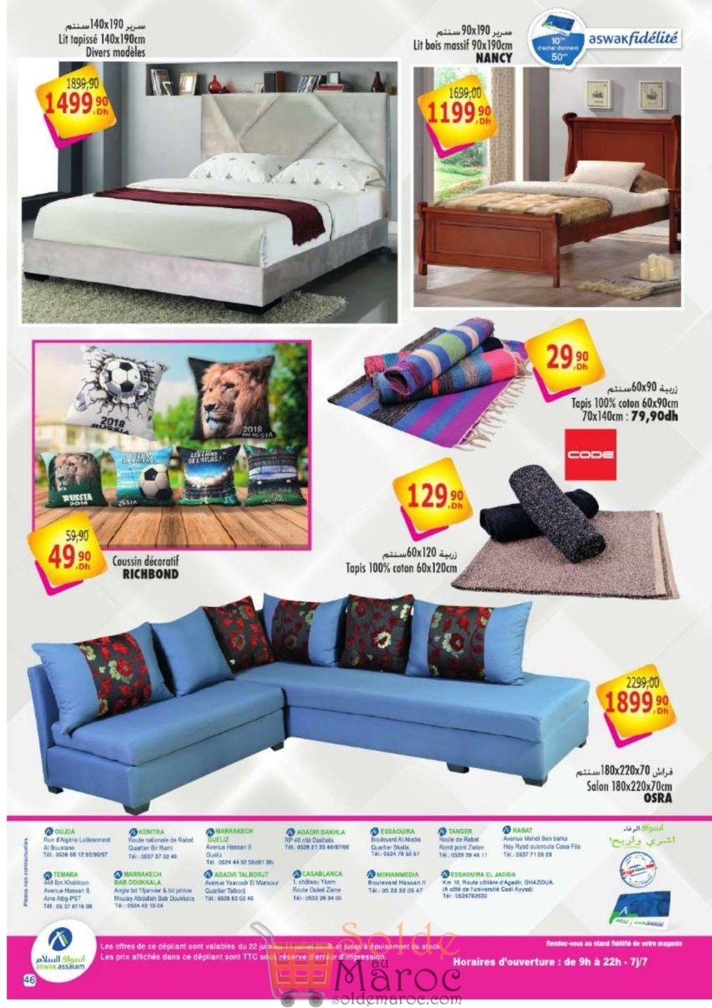 Catalogue Aswak Assalam du 22 Juin au 11 Juillet 2018
