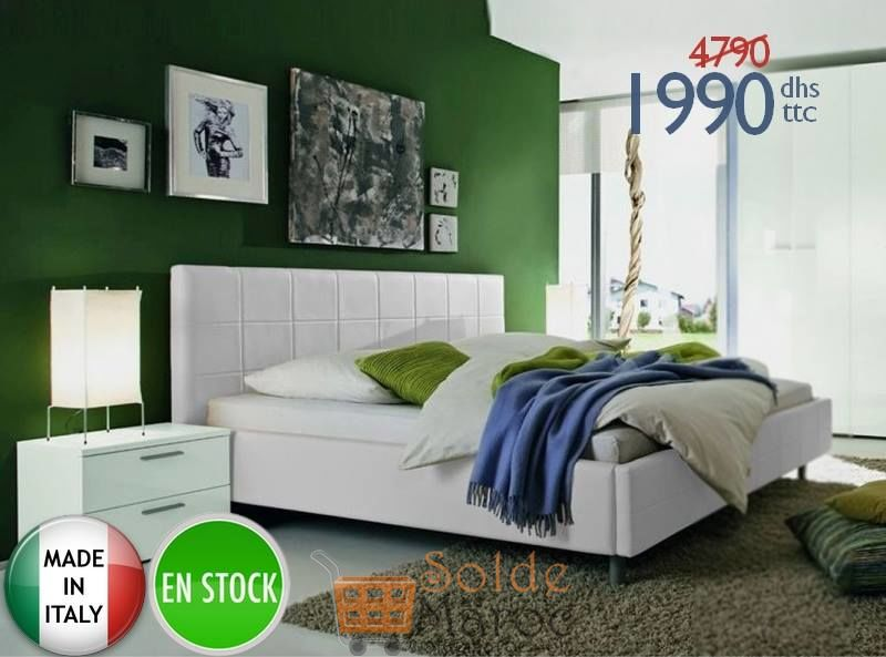Promo Azura Home LIT ADULTE FONNI 1990Dhs au lieu de 4790Dhs