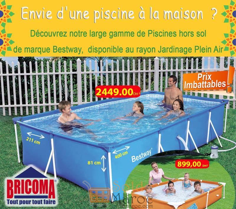 Prix Imbattables Piscine Maison chez Bricoma