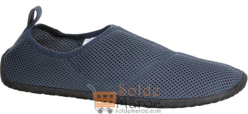 Nouveau chez Decathlon Chaussures aquatiques Aquashoes 50 grises foncées 59Dhs