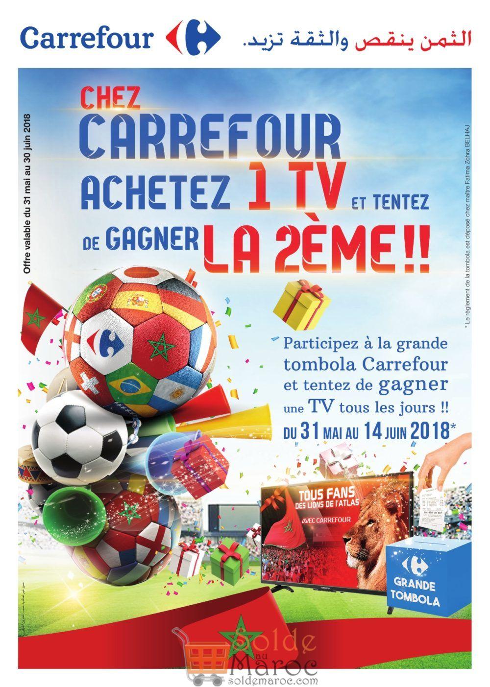 Catalogue Carrefour Maroc Coupe Du Monde Russia du 31 Mai au 30 Juin 2018