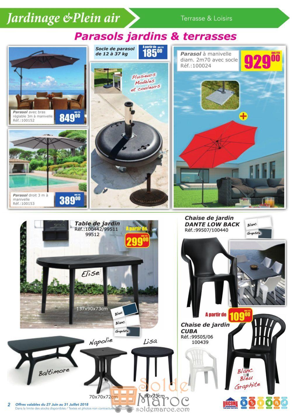 Catalogue Bricoma du 27 Juin au 31 Juillet 2018