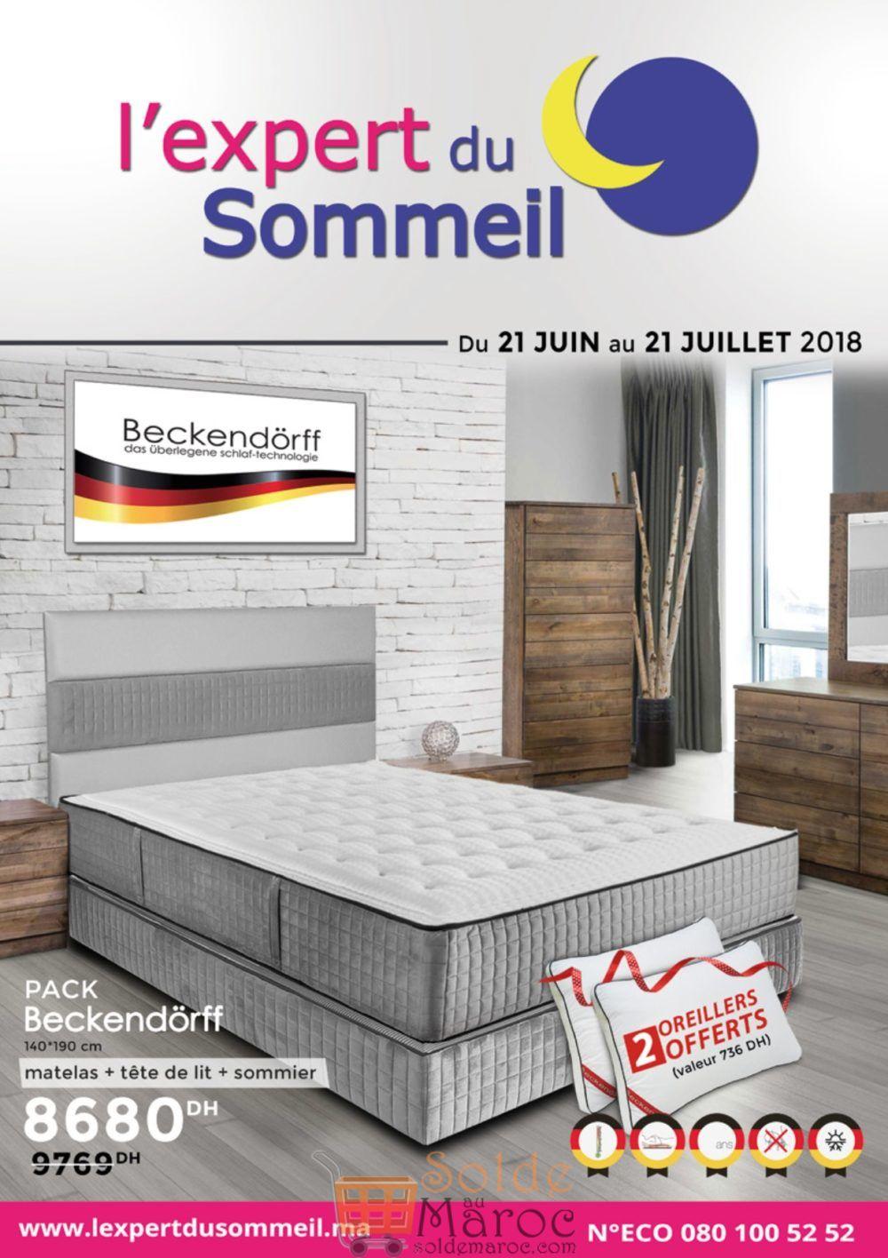 Catalogue L'expert du Sommeil du 21 Juin au 21 Juillet 2018