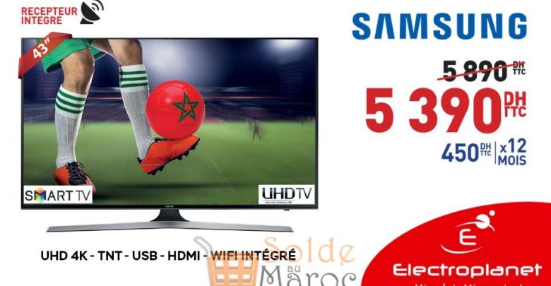 Photo of Promo Electroplanet SMART TV SAMSUNG 43″ 4K 5399Dhs