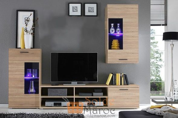 Promo Azura Home Ensemble Meuble tv SEPH 2190Dhs au lieu de 4054Dhs
