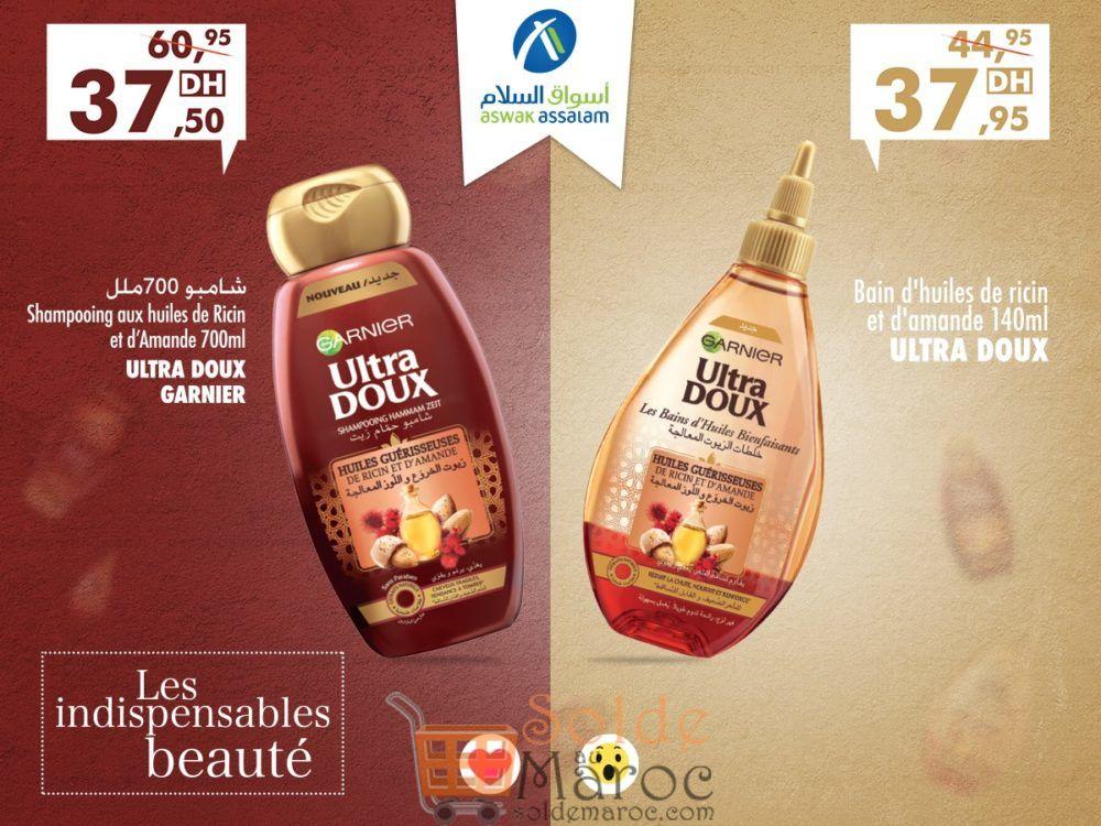 Promo Aswak Assalam les indispensables Beauté de Garnier