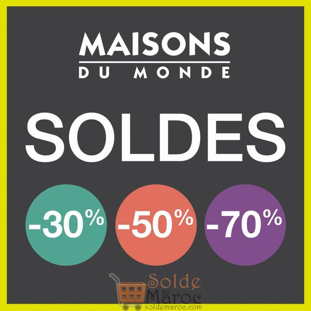 Soldes Maison du Monde Maroc Meubles et décoration – Solde et ...