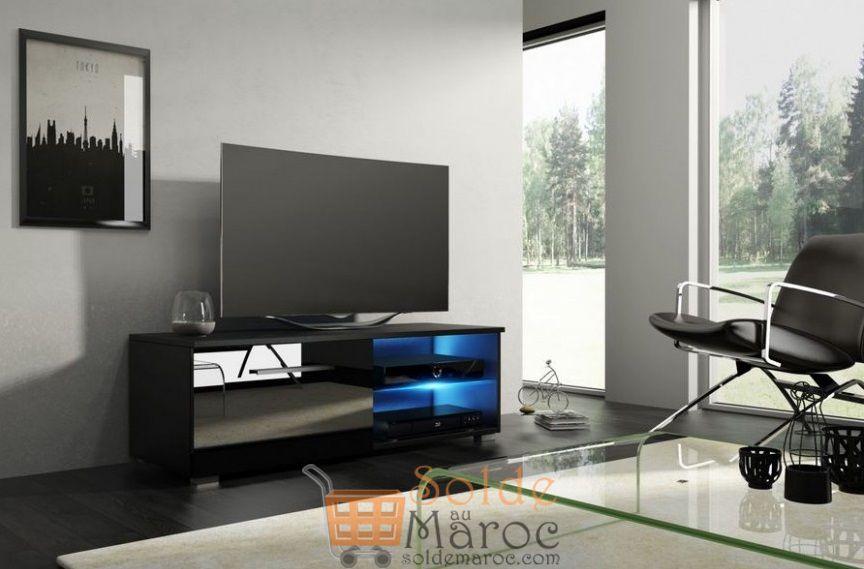 Promo Azura Home MEUBLE TV ALBY 100cm 1390Dhs au lieu de 1417Dhs