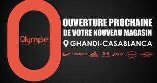 Ouverture Prochaine Nouveau Magasin Olympe Store Ghandi Casablanca
