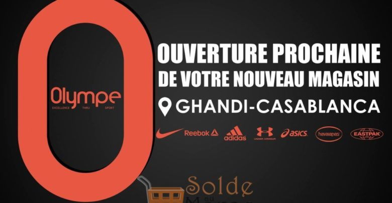 Photo of Ouverture Prochaine Nouveau Magasin Olympe Store Ghandi Casablanca