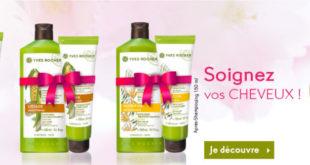 Promo Yves Rocher Maroc 1=2 à l'achat d'1 Shampooing 1 après-Shampooing GRATUIT