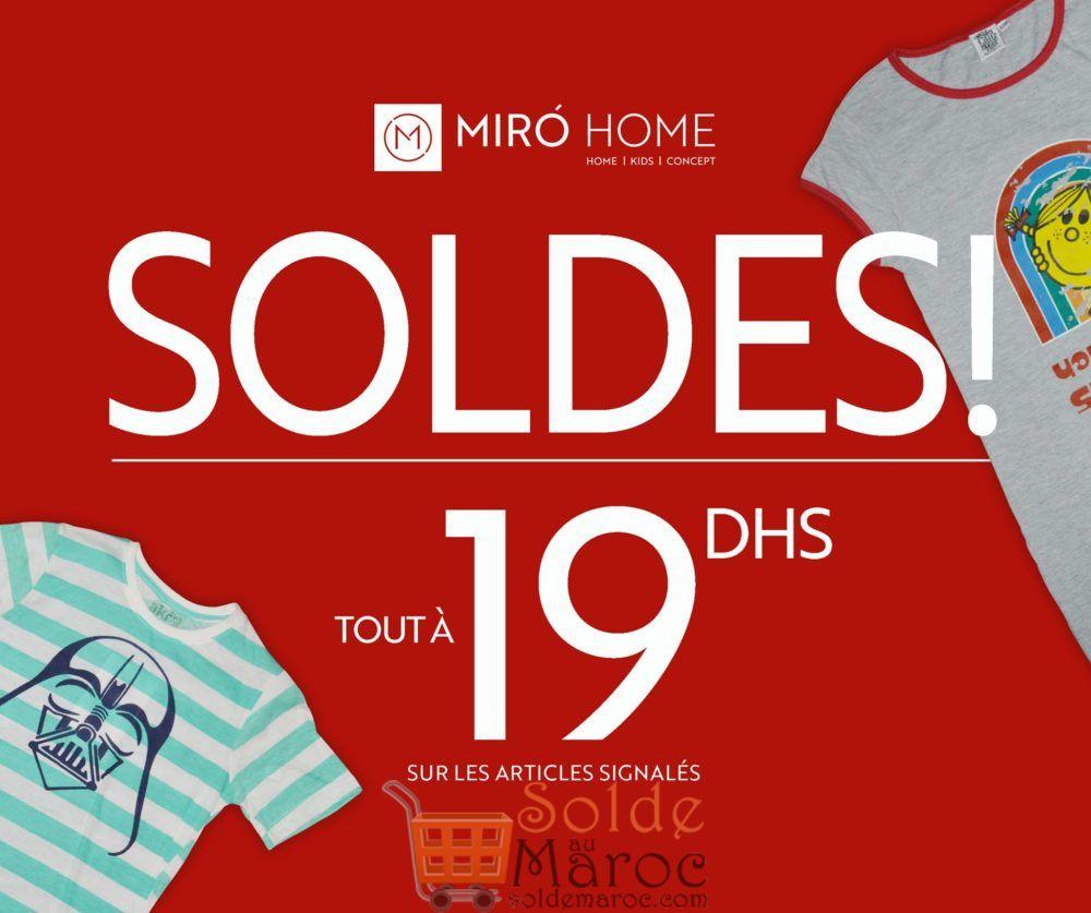 Soldes Miro Home Tout à 19Dhs