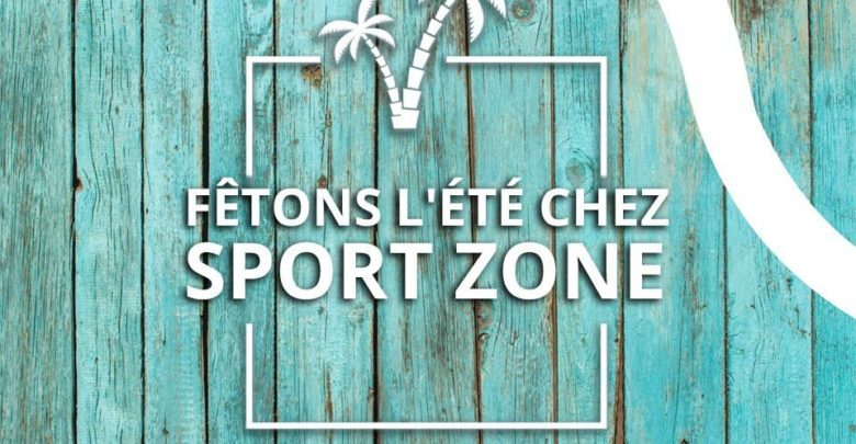 C'est l'été chez Sport Zone Maroc Nouveautés promotions cadeaux et surprises