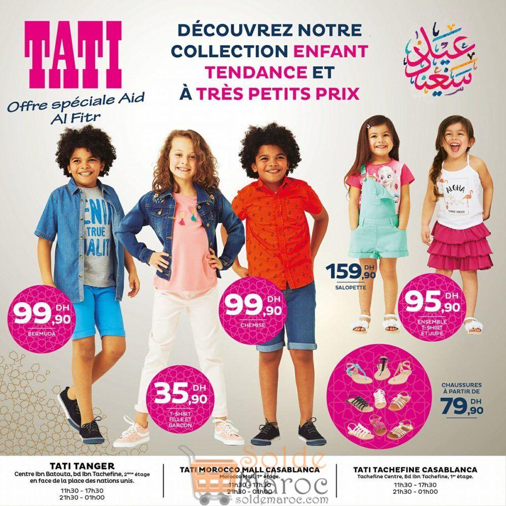 Collection Enfant Spéciale Aid ALFitr chez Tati Maroc
