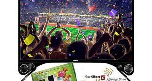 """Super Offre Jumia Telstar Smart TV Android 32"""" CURVED + Mini Récepteur 1999Dhs au lieu de 3299Dhs"""