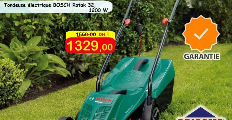 Photo of Promo Bricoma Tondeuses à gazon électriques Bosch 1329Dhs