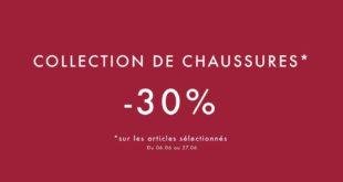 Offre Spéciale Chaussures UTERQUE Maroc du 6 au 27 Juin 2018 -30% sur une sélection d'articles
