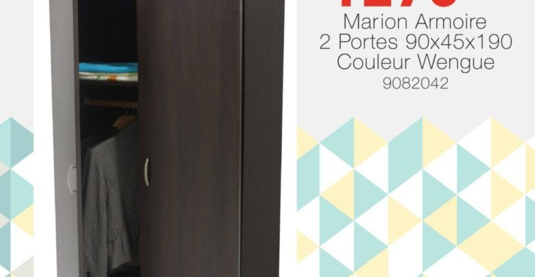 Photo of Soldes Yatout Home Armoir Marion 2 Portes 1290Dhs