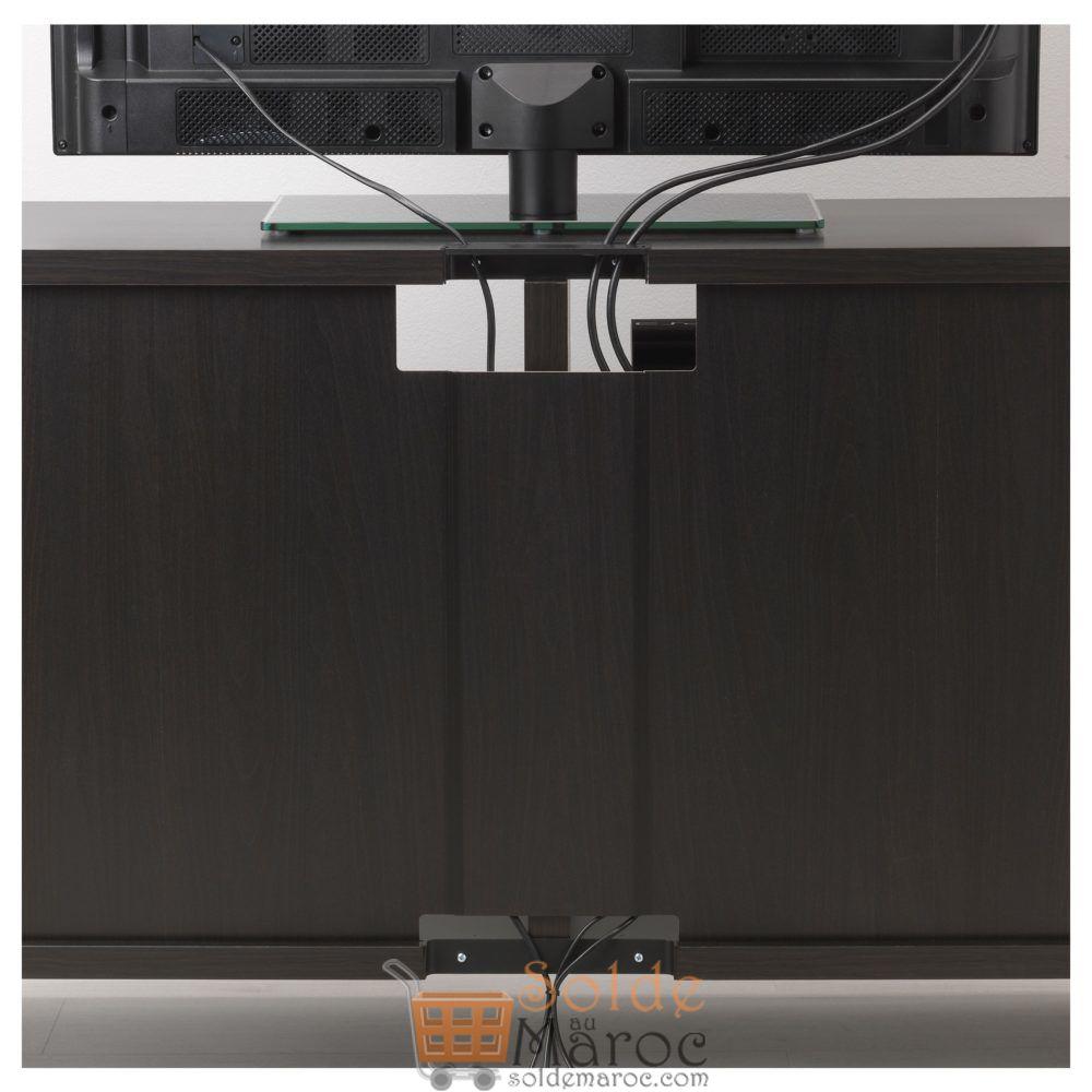 Soldes Ikea Maroc Meuble TV BESTÅ Noir-brun 799Dhs au lieu de 1145Dhs