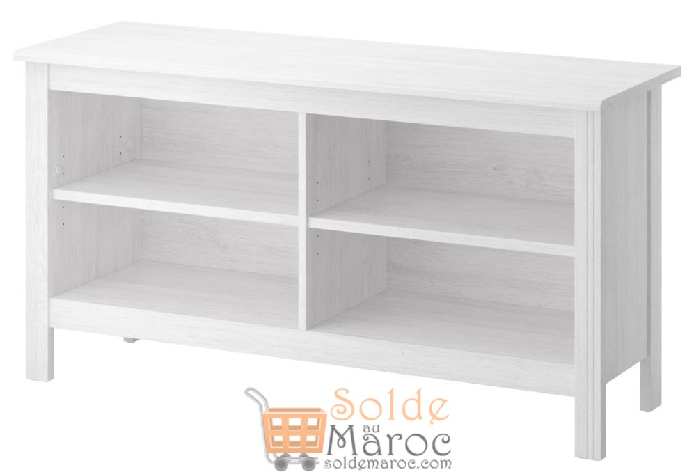 soldes ikea maroc meuble tv brusali blanc 550dhs solde. Black Bedroom Furniture Sets. Home Design Ideas