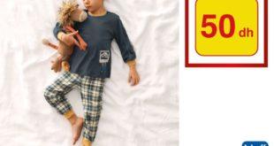Promo Alpha55 Pyjama Garçon tout à 50Dhs