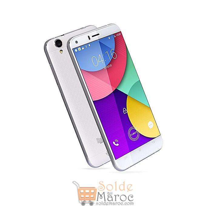 Promo Jumia Cubot Manito 4G Dual SIM 16GO 3Go Blanc 899Dhs au lieu de 1549Dhs