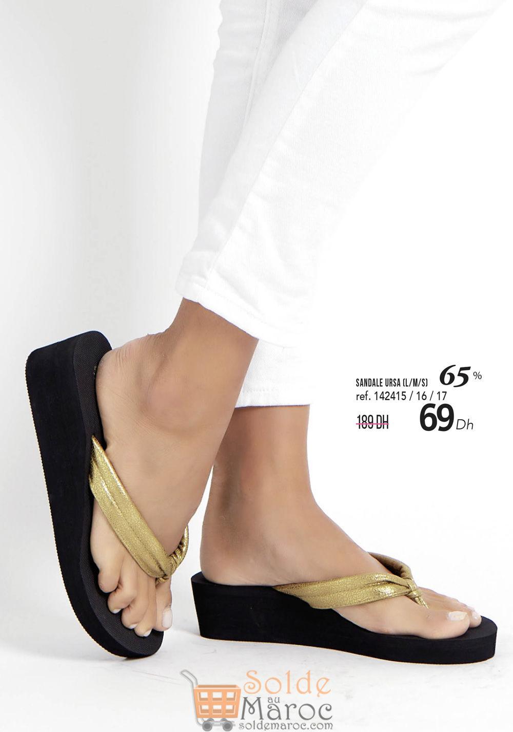 Catalogue Sophie Paris Maroc Spéciale promo chaussures à partir du 11 Juillet 2018