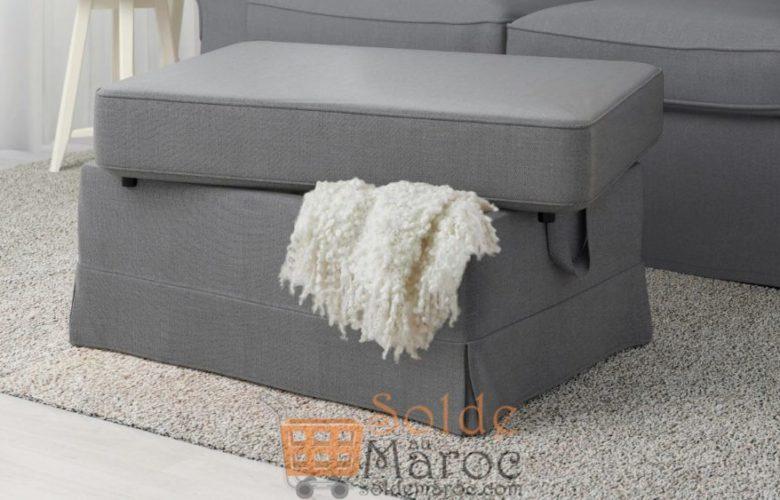 Soldes Ikea Maroc Repose–pieds EKTORP Gris foncé Nordvalla 995Dhs au lieu de 1395Dhs